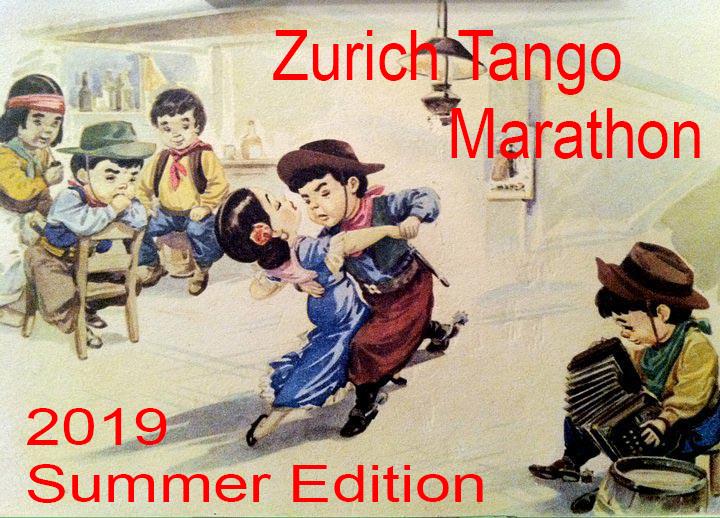 ZURICH TANGO MARATHON Summer Edition 2019 Maratona internazionale di altissimo livello con partecipanti da tutta europa. Richiesta  registrazione preventiva. Presente come Dj